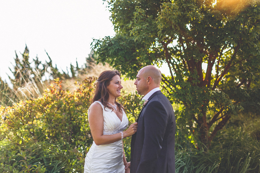 Crystal Springs Wedding Portrait