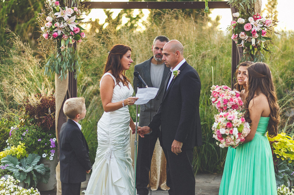 Crystal Springs Wedding Ceremony