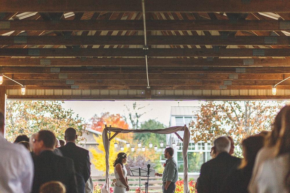 Wedding Ceremony The Conservatory