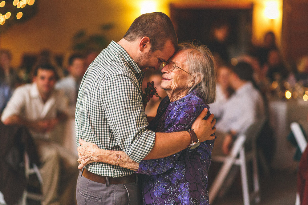 Groom with Grandmother