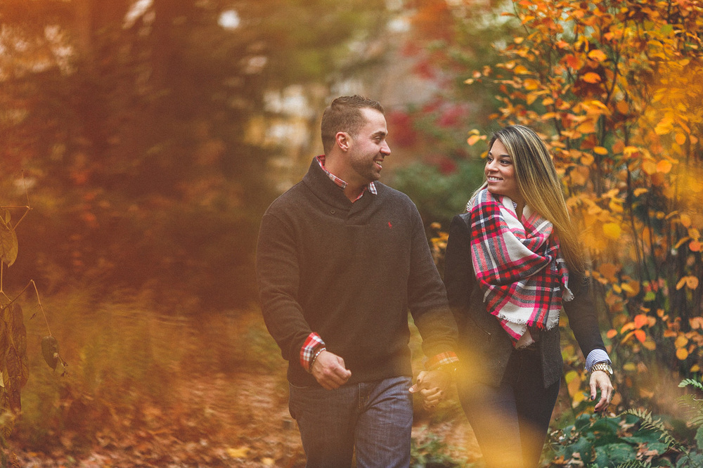 Morristown NJ Engagement Photo