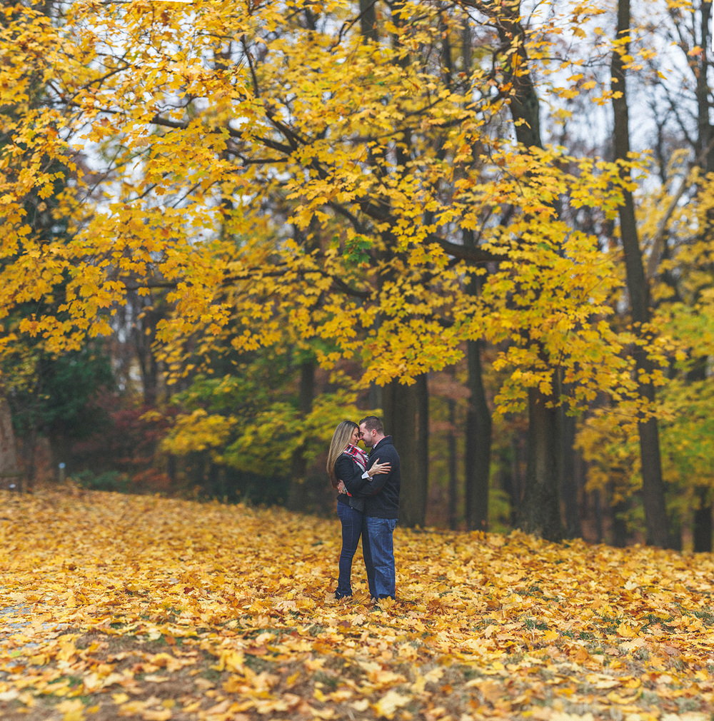 Autumn Morristown NJ Engagement
