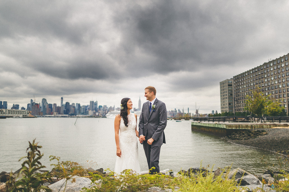 Hoboken Wedding Portraits