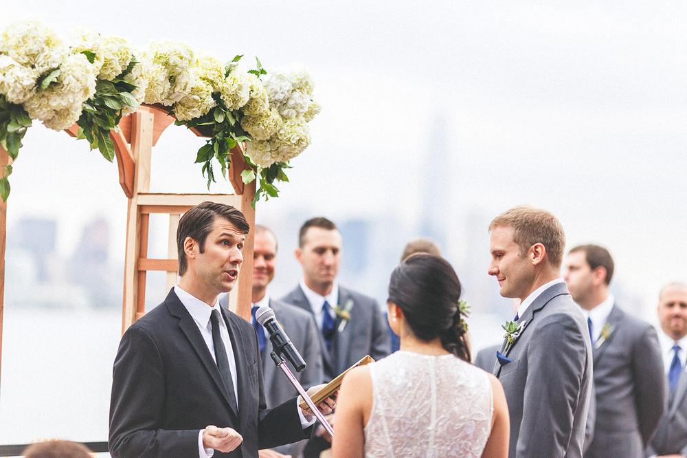 Chart House Wedding Ceremony