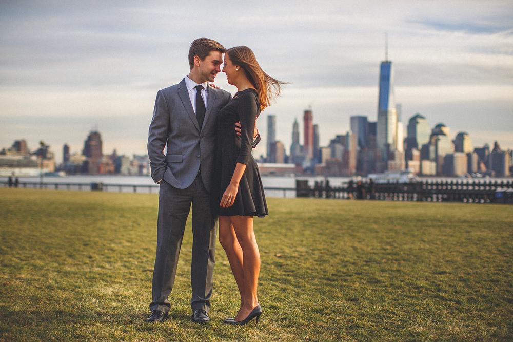 Hoboken Engagement World Trade Center