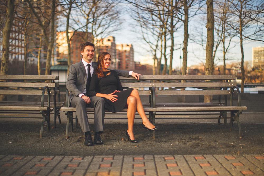 Couple Hoboken NJ Engagement