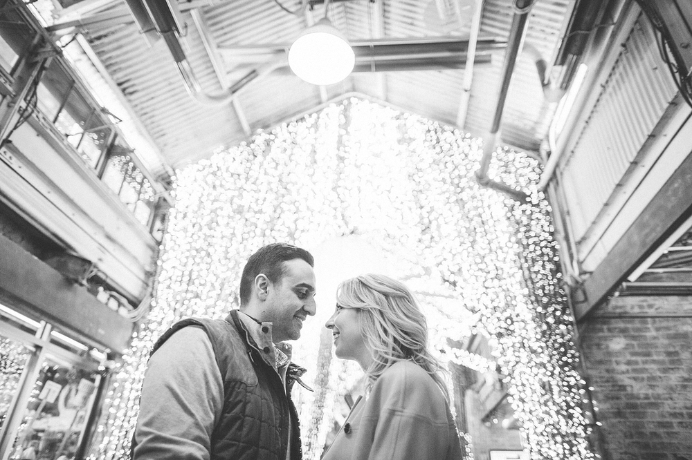 Chelsea Market Engagement Photo