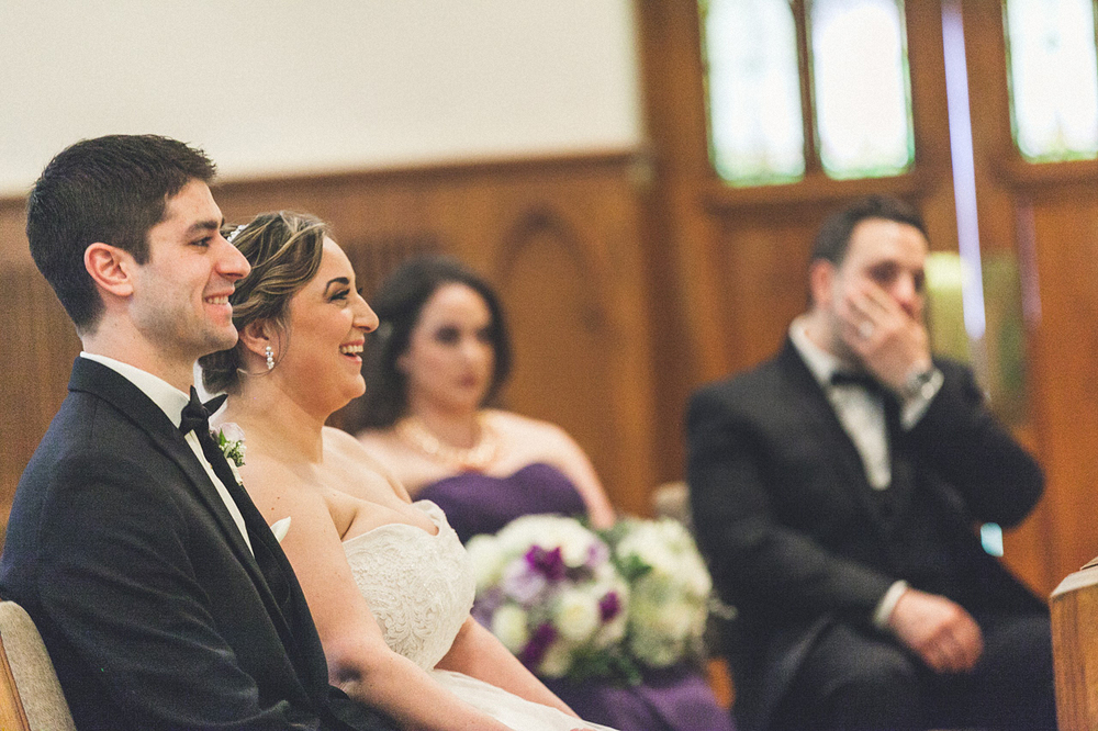 Bride/Groom Laugh