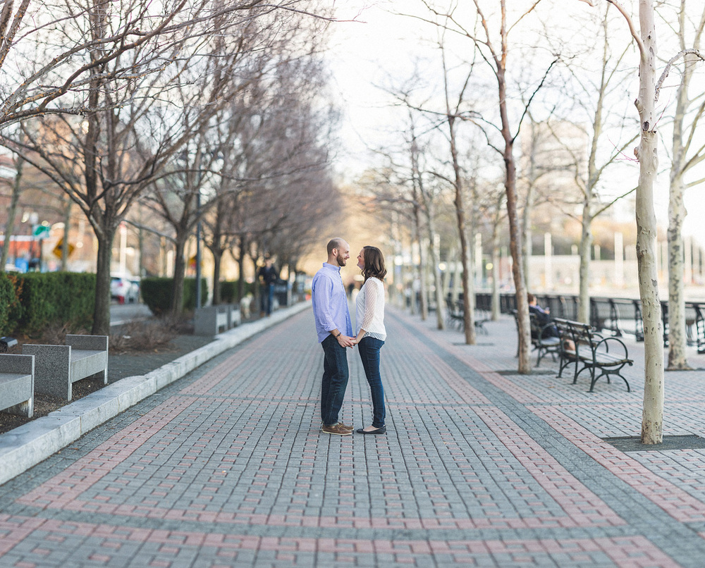Hoboken River Front Engagement