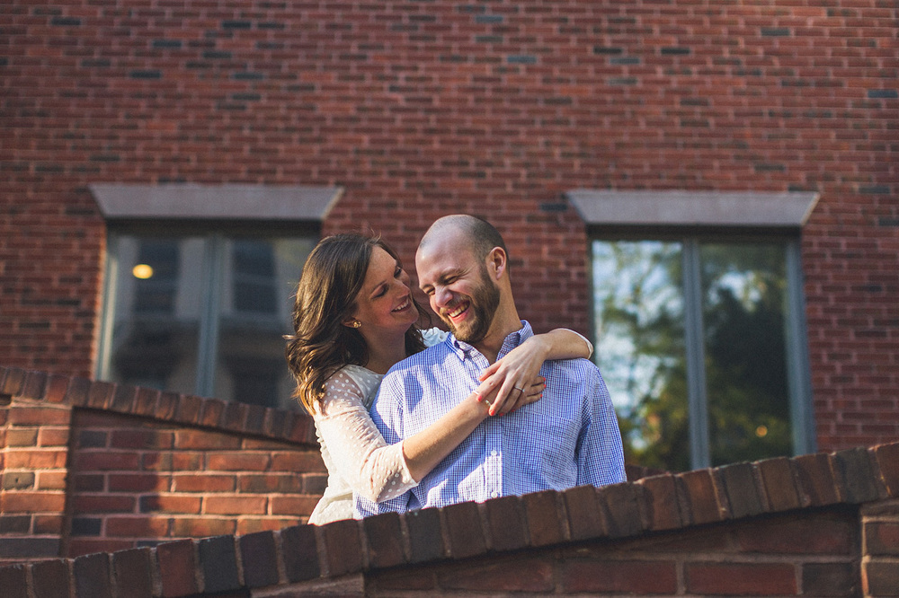Laugh Engagement Photo