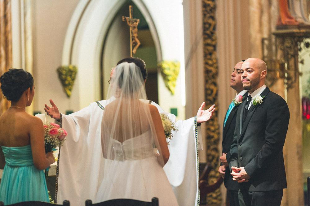 Groom Bride St Patricks