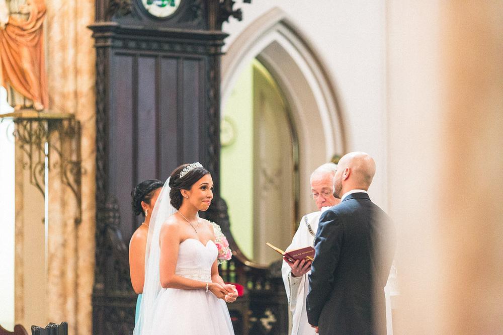 Bride Happy Vows