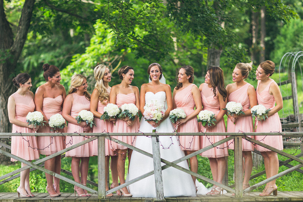 Bridal Party Millrace Pond