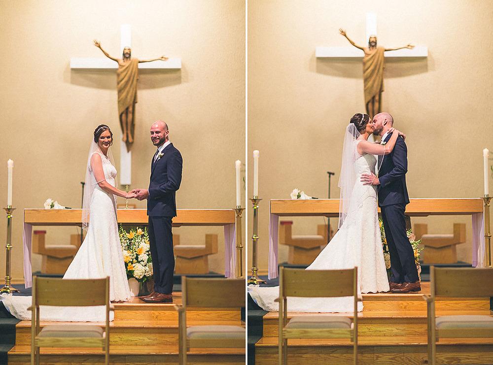 St. Bernard's Roman Catholic Church Wedding