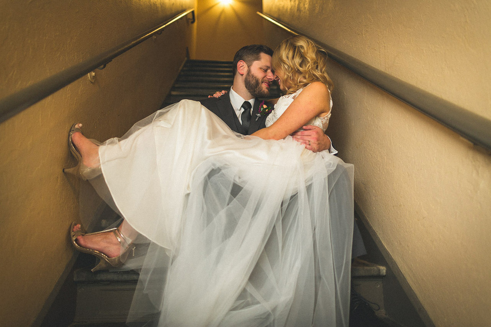 Creative Wedding Portrait