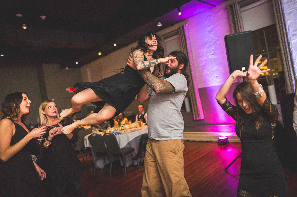 Allentown Brewworks Wedding Reception