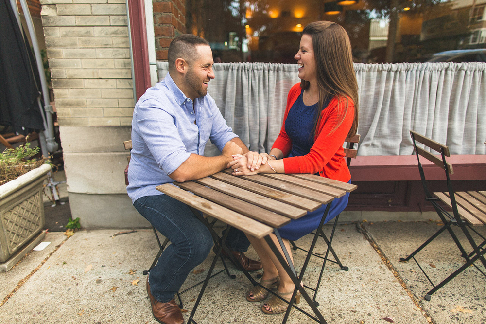 Montclair Engagement Photo