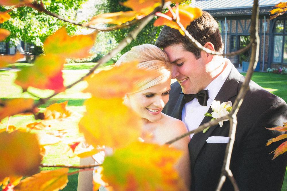 Fall Pleasantdale Chateau Wedding