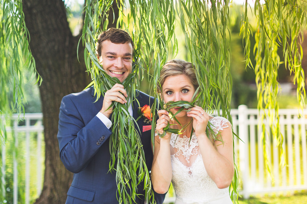 Fun The Mansion Wedding Portraits