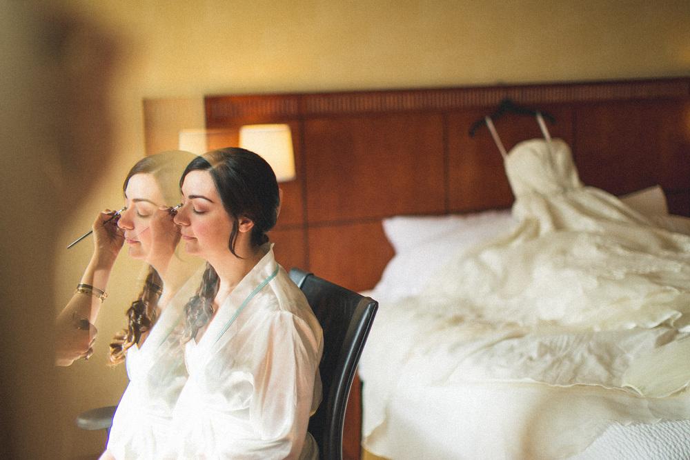 Bride Makeup Perona Farms