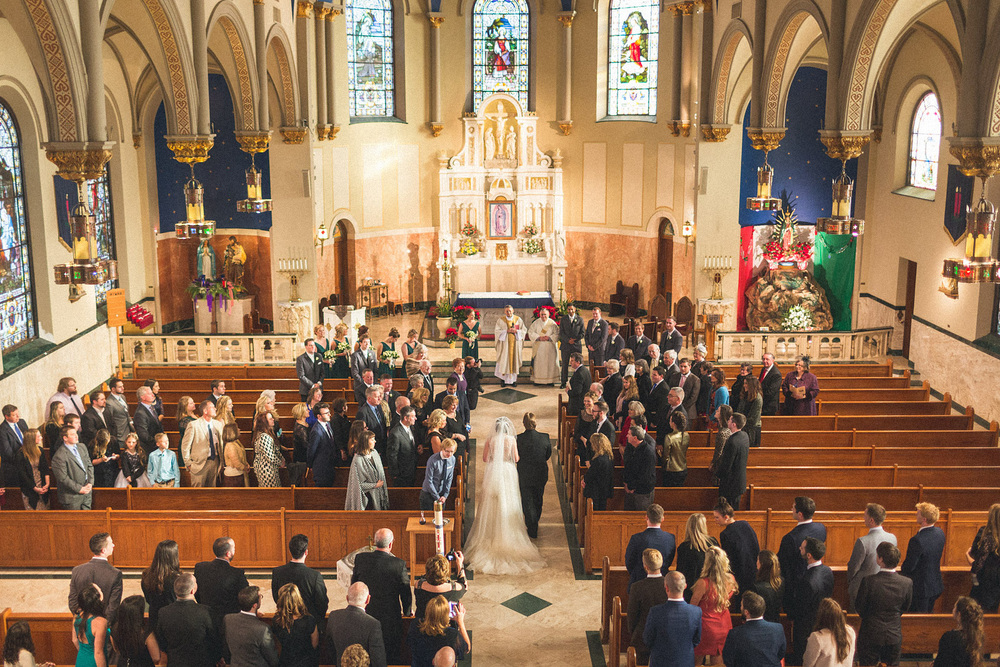 St. Cecelia's Church Wedding