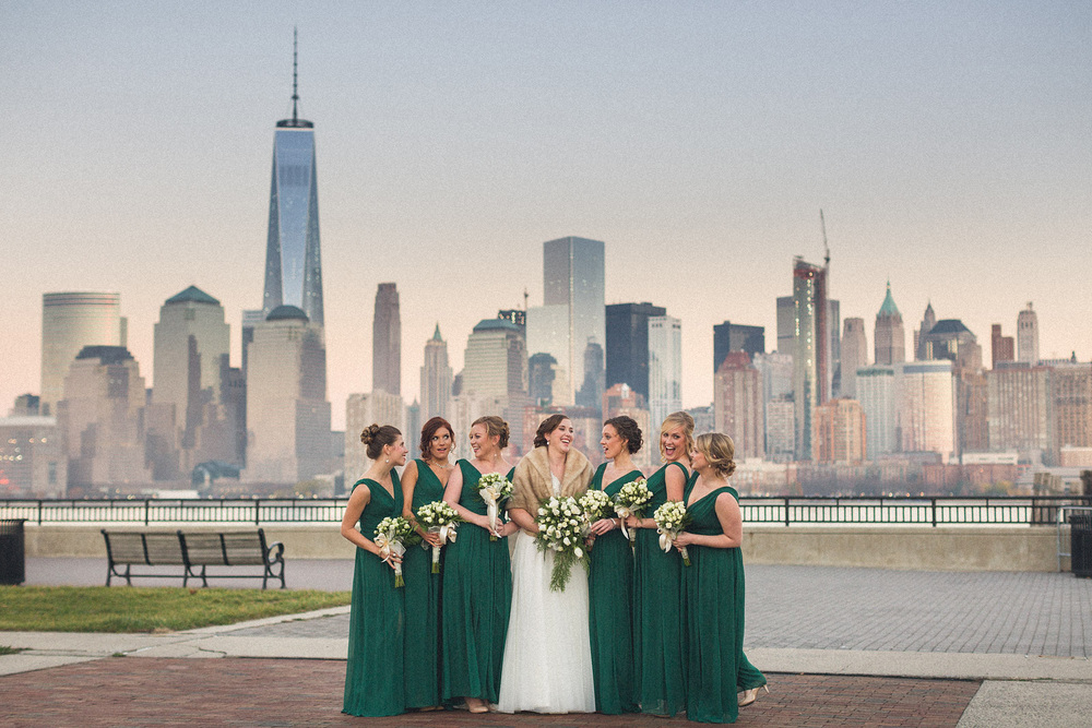 Liberty State Park Wedding Party