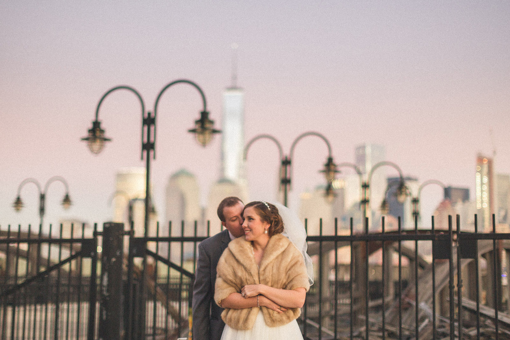 Liberty State Park Wedding Portraits