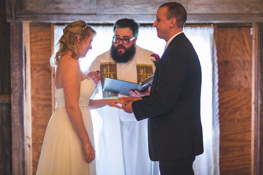 Jack's Barn Wedding Ceremony