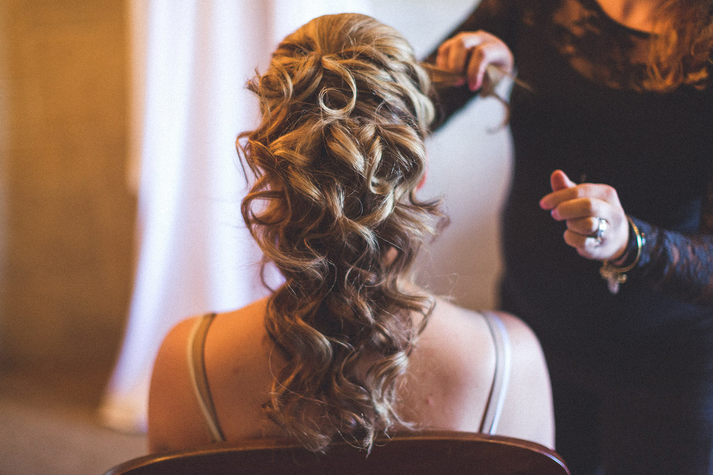 Hair Wedding Crystal Springs