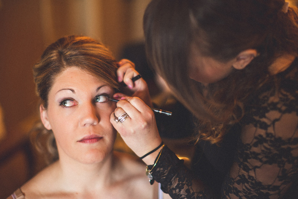 Makeup Wedding Crystal Springs