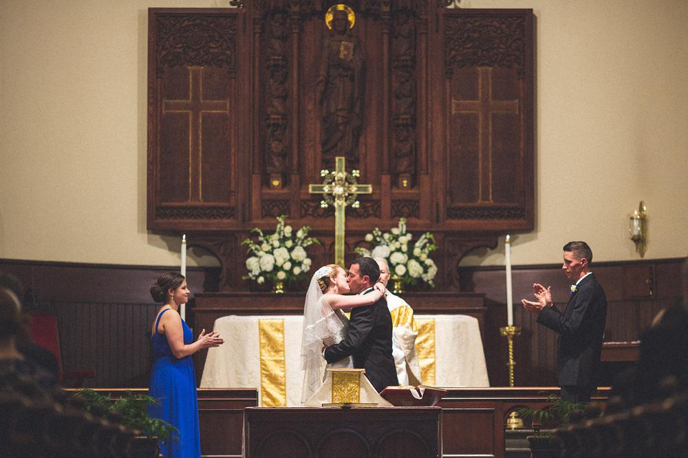 St Anne's Parish Wedding