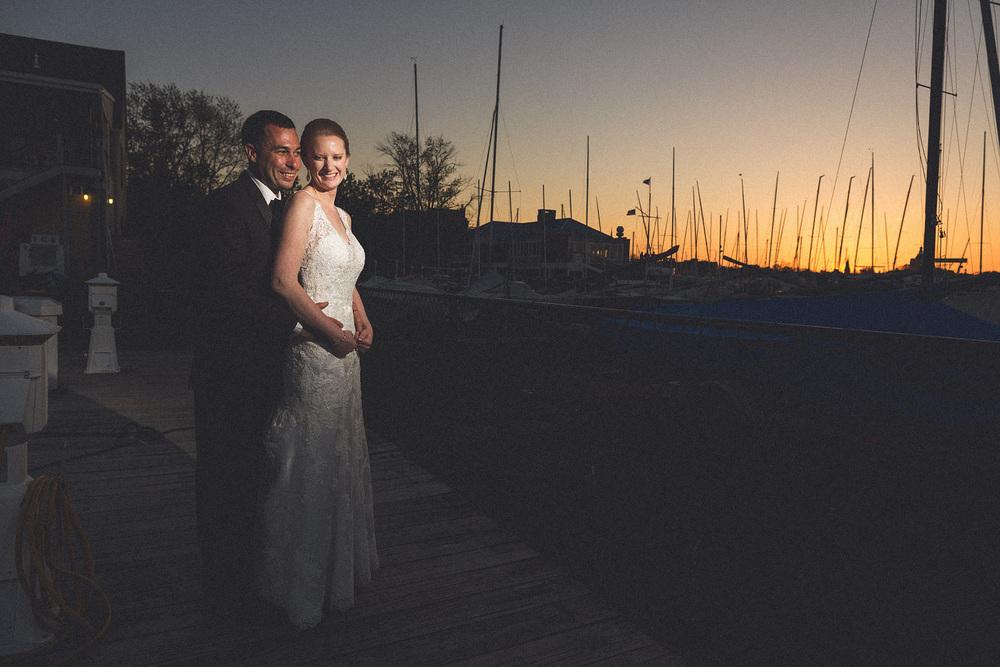 Eastport Yacht Club Wedding Photography