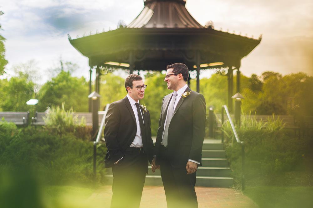Wedding Portrait Eagle Rock Reservation