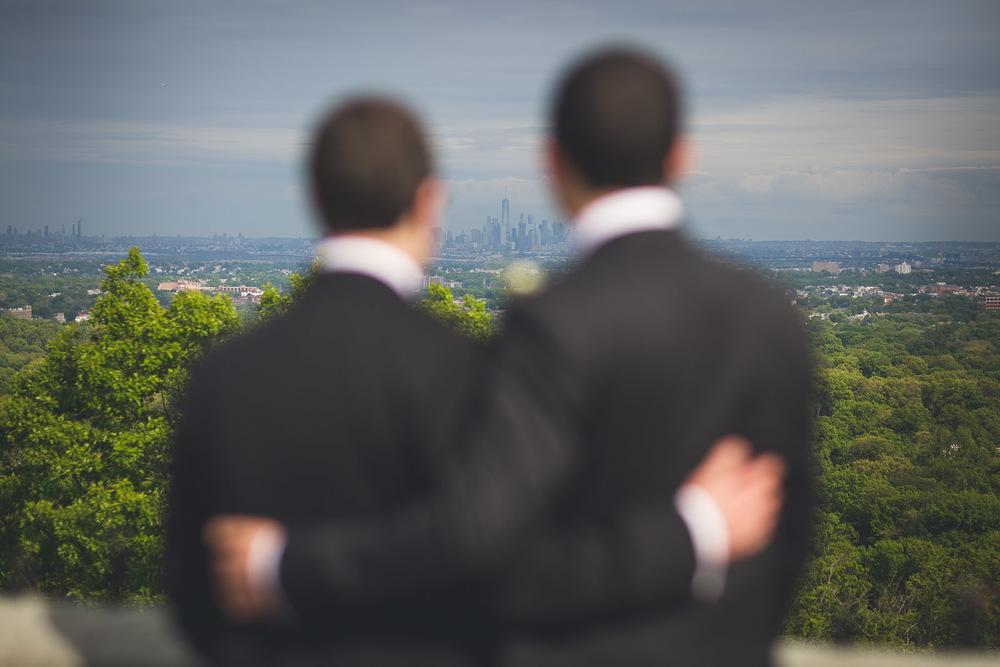 Wedding Photography New York City overlook