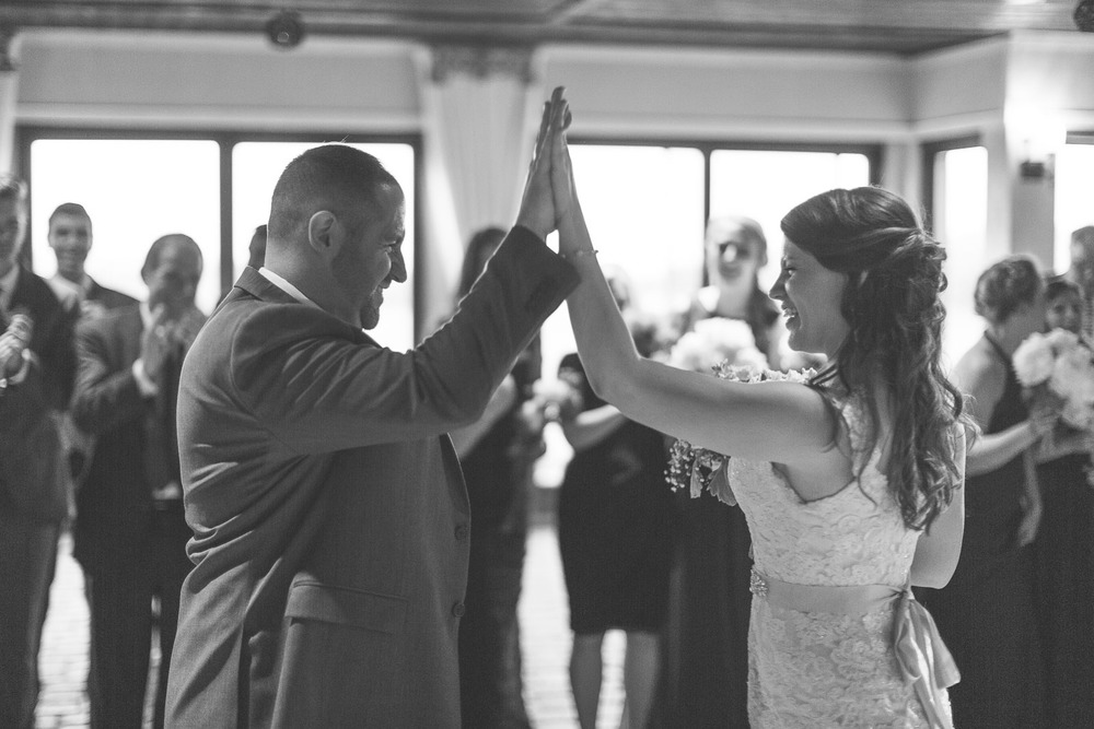 High five for weddings