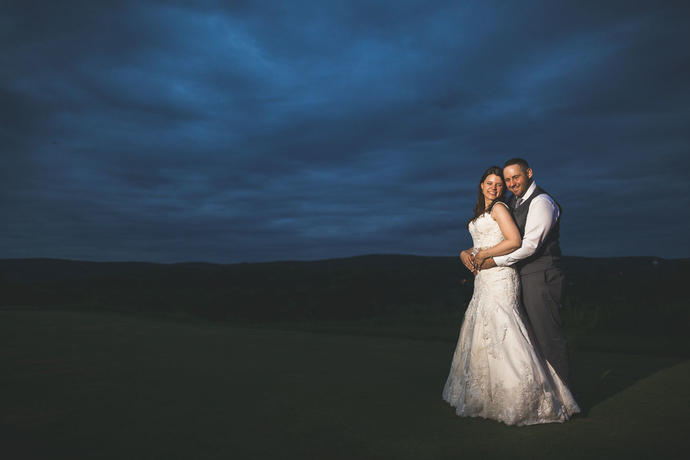 Creative wedding Portrait Ballyowen Golf Club