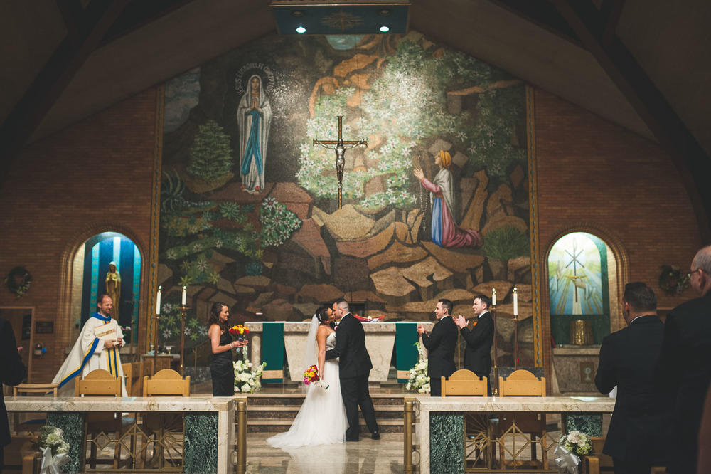 Our Lady Of Lourdes Church Wedding Photography