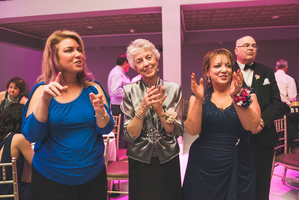 Grandma has fun at Wedding