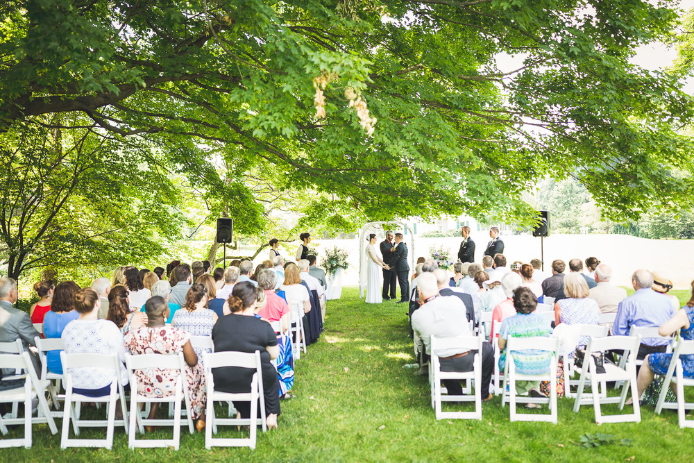 Wedding Ceremony Frelinghuysen Arboretum