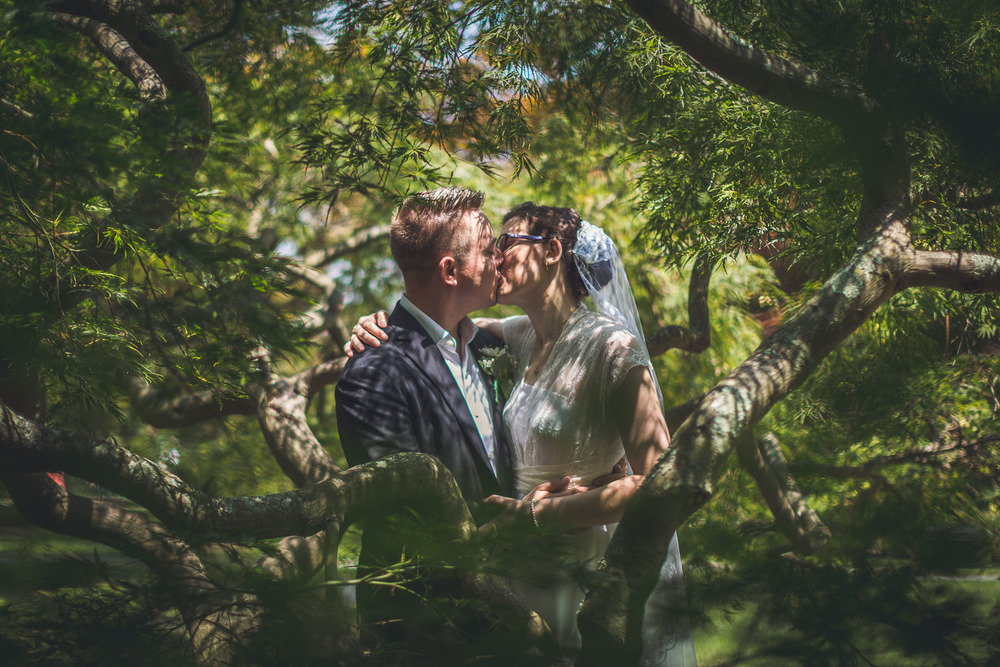Creative Wedding Portraits Frelinghuysen Arboretum