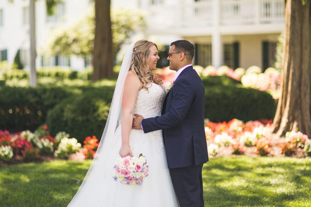 Madison Hotel Bride and Groom