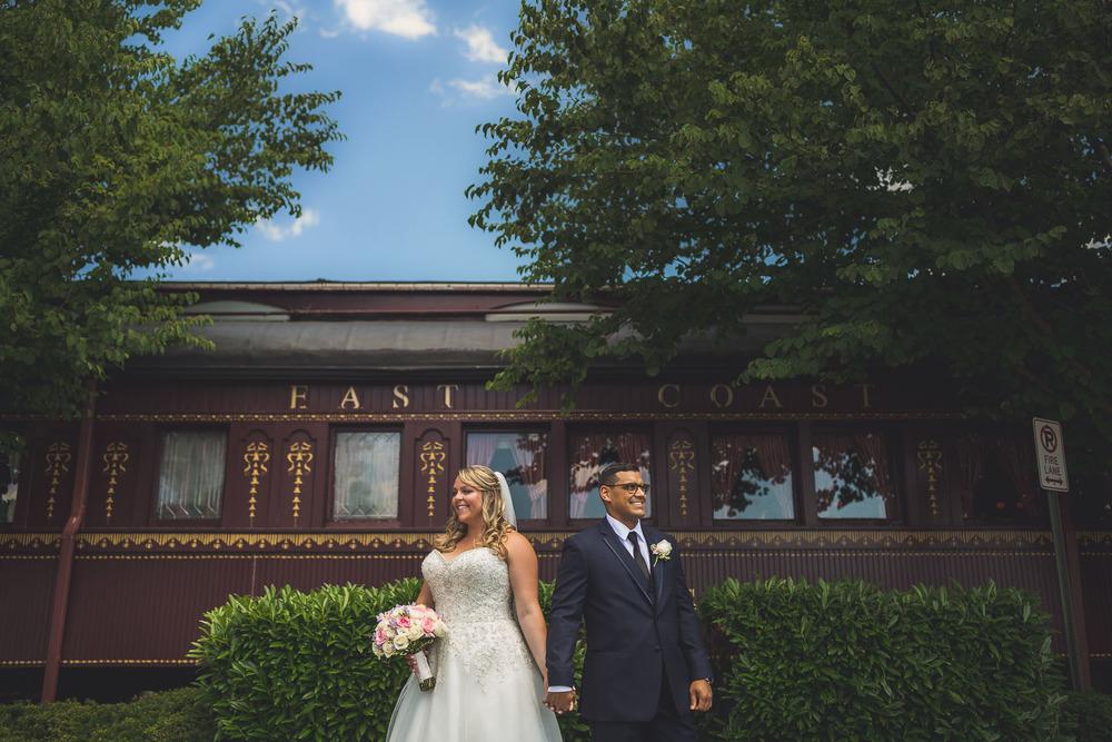 Old Train Madison Wedding Photography