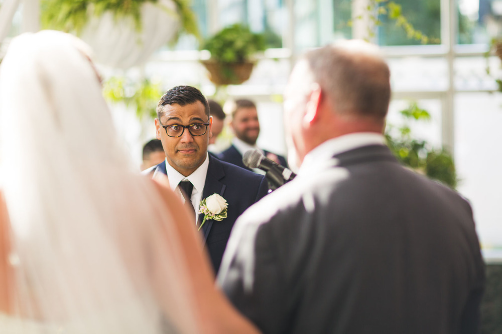Groom tears up Madison Hotel Wedding