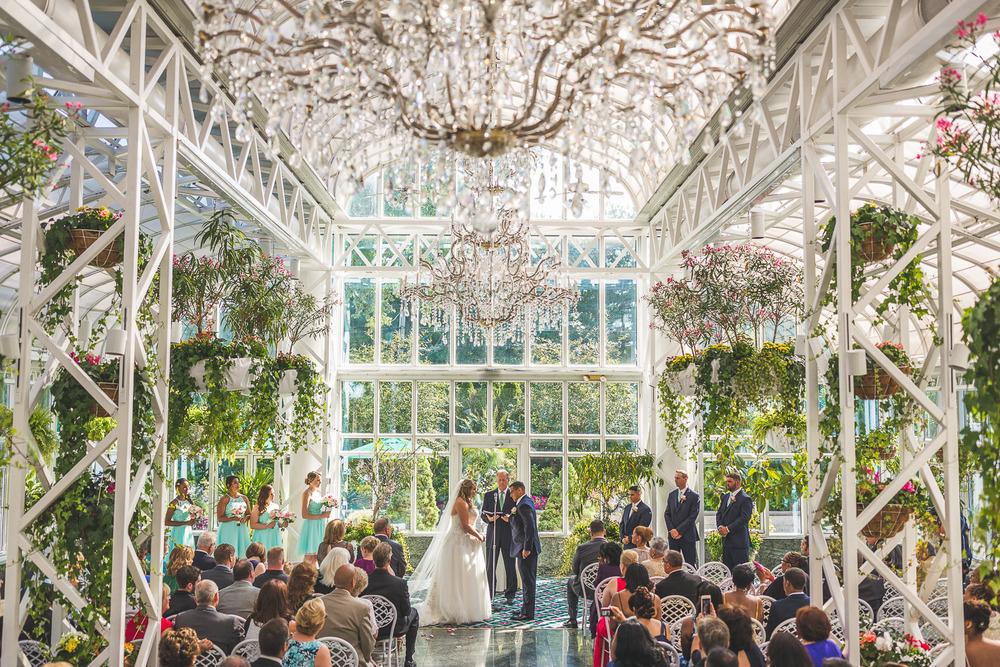 Madison Hotel Wedding Ceremony Conservatory