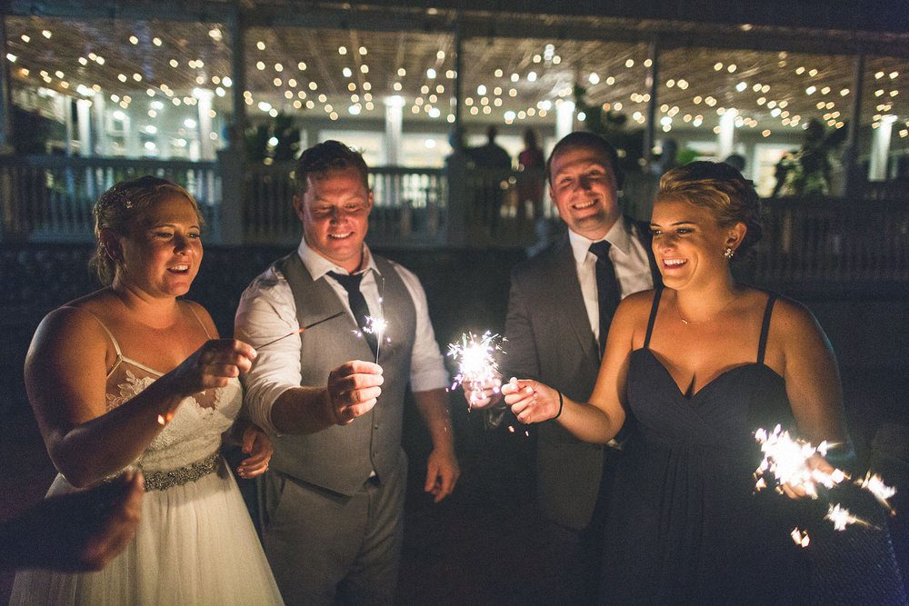Sparkler Photography Wedding