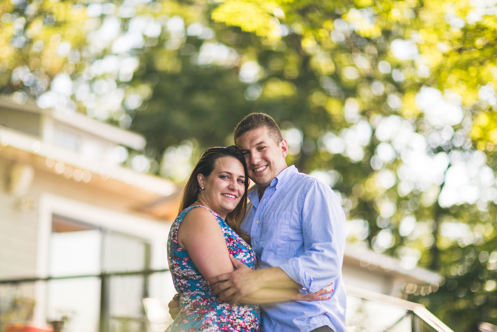 Bokeh Engagement Photography