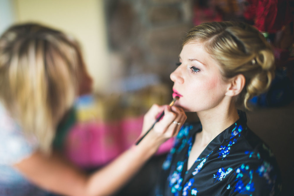 Wedding Makeup at Mineral Resort and Spa