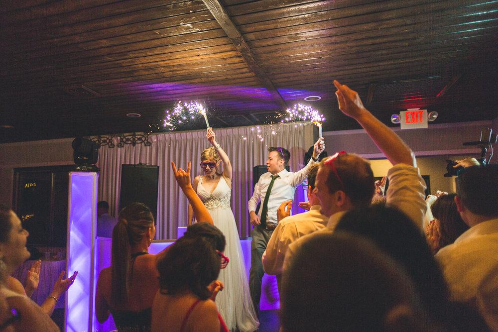 Ballyowen Wedding Sparklers
