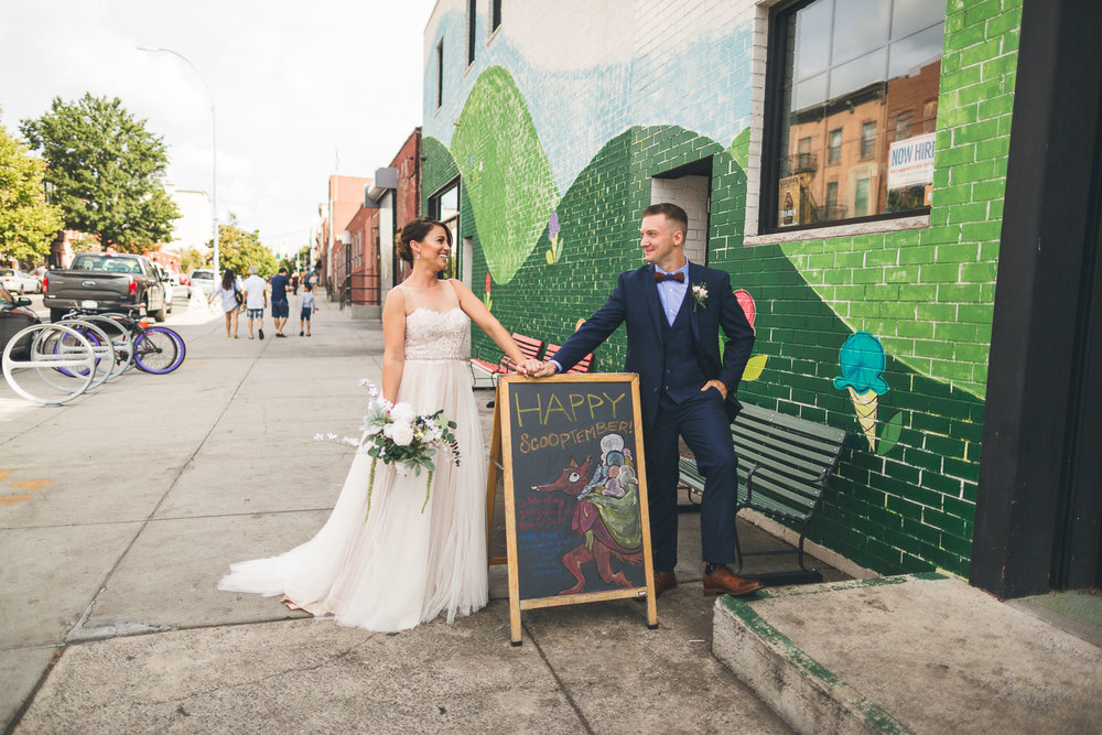 Ample Hills Ice Cream Wedding