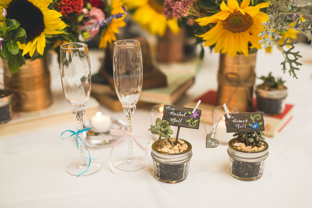 Wedding Favors as Place Cards